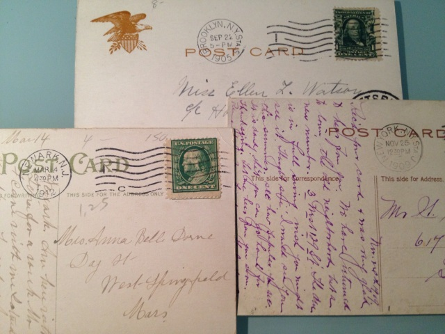 Old New York postcards