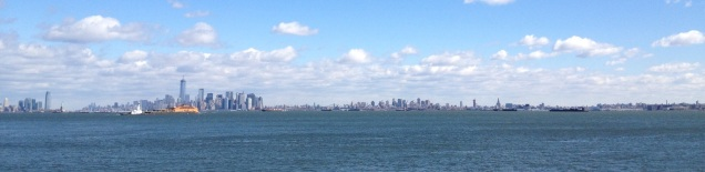 View of New York Harbor from St. George