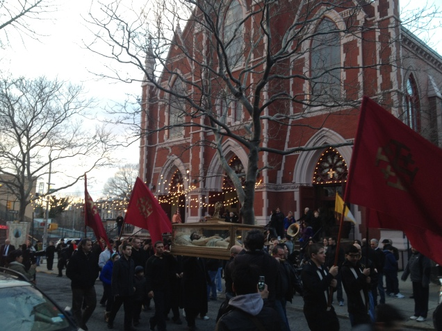 Good Friday Procession, Carroll Gardens