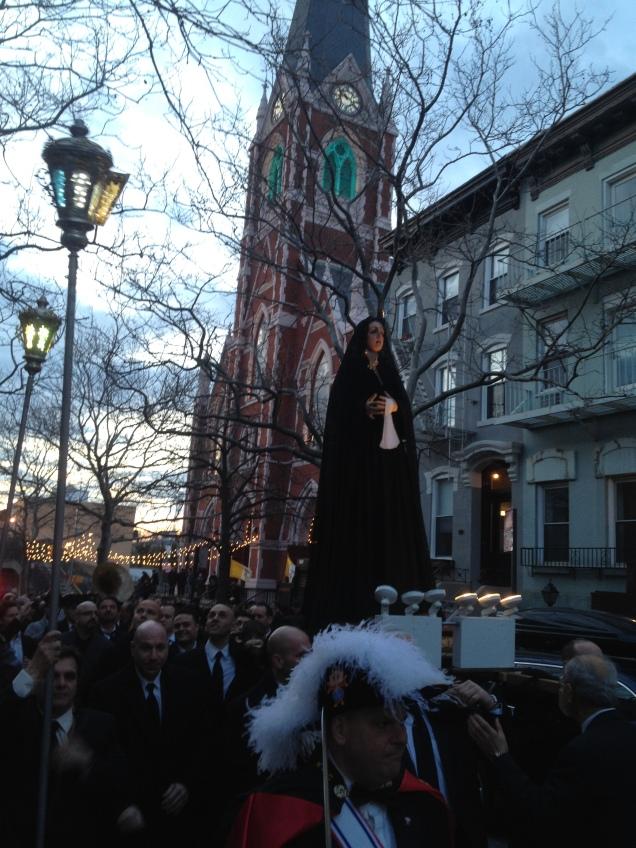 Good Friday Procession, Carroll Gardens