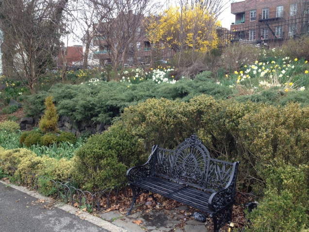 Narrows Botanical Gardens in Bay Ridge, Brooklyn