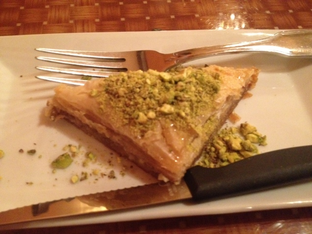 Baklava at Waterfalls, Brooklyn