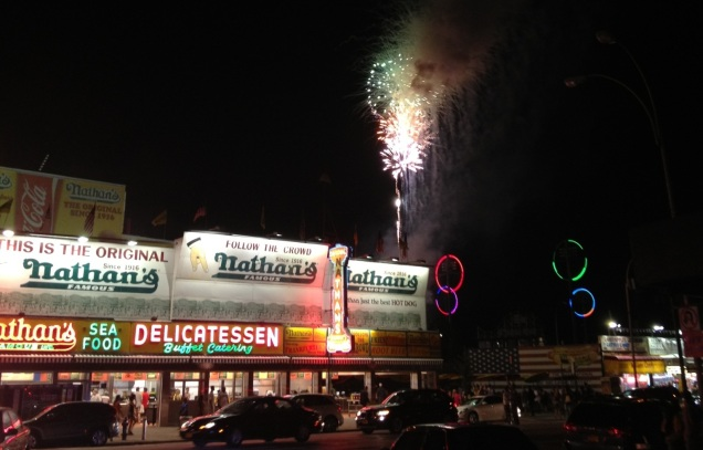 Nathan's Famous, Coney Island, Brooklyn