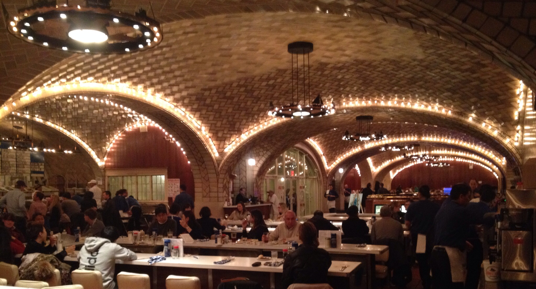 The Grand Central Oyster Bar Through The Years I Happen