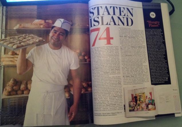 Saveur magazine, Staten Island